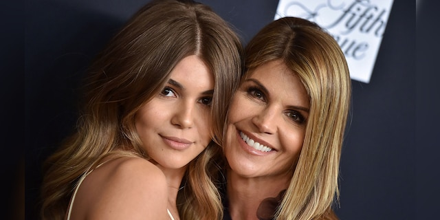 Olivia Jade Giannulli is reunited with her mother, Lori Loughlin, in December.